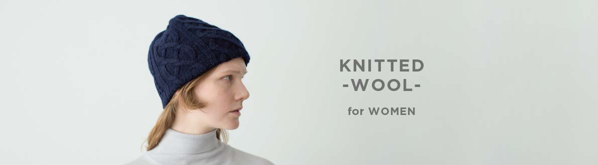 KNITTED -WOOL- for WOMEN